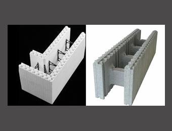 Energy efficient construction idaho and washington for Icf foam block construction